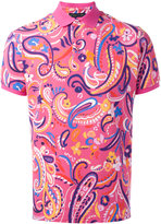 Etro paisley print polo shirt - men - Cotton - XL