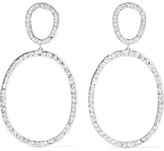 Ileana Makri Again Single 18-karat White Gold Diamond Earrings - one size