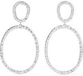 Ileana Makri Again Single 18-karat White Gold Diamond Earrings