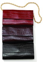 Our Exclusive Croco-Embossed Leather Clutch