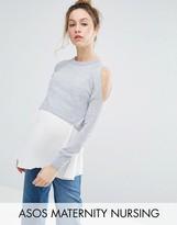Asos NURSING Double Layer Sweater