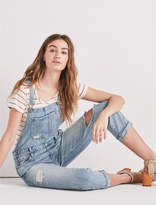 Lucky Brand Boyfriend Denim Overall In Amherst