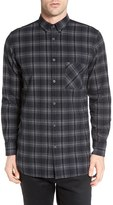 Zanerobe Men's Seven Ft Longline Flannel Shirt