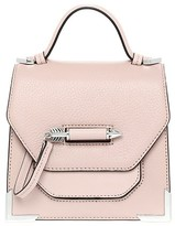 Mackage Rubie Structured Leather Shoulder Bag In Petal