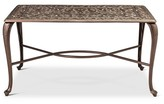 Threshold TH Folwell Cast Aluminum Coffee Table