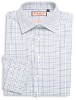 Thomas Pink Check Pattern Dress Shirt