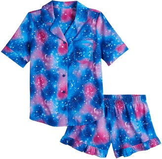 So Girls 7-14 Print Pajama Set