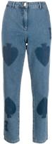 Moschino spades print jeans