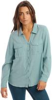 Grab Textured Double Pocket Shirt