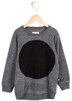 Nununu Girls' Circle-Embellished Pullover Sweatshirt