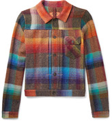 Missoni Checked Mohair-blend Jacket - Multi