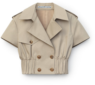 Collection Cropped Trench Jacket