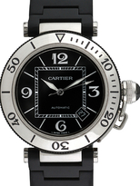 Cartier Vintage Pasha Seatimer Stainless Steel Watch, 40mm