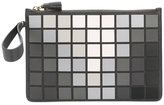 Anya Hindmarch tile clutch - women - Leather/Suede - One Size