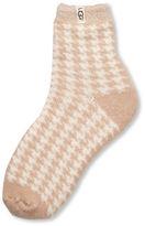 UGG Houndstooth Fleece Lined Sock