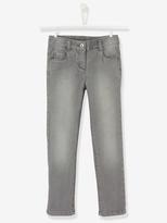 Vertbaudet Girls WIDE Waist Straight Cut Jeans