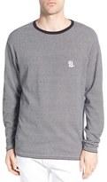 Barney Cools 'Campus' Stripe Long Sleeve Crewneck T-Shirt