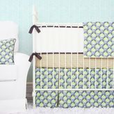 Caden Lane Peacock Crib Bedding Collection in Blue