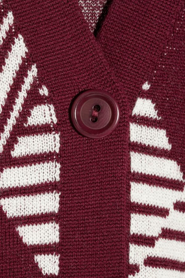 Roland Mouret Badger wool-jacquard cardigan