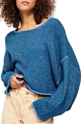 Free People Bardot Drop Shoulder Sweater