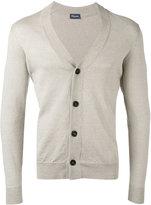Drumohr V-neck cardigan - men - Linen/Flax/Polyamide - 50
