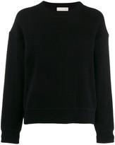 MACKINTOSH Black Cashmere Blend crew neck Sweater | WCS-1003