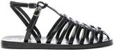 Acne Studios Shiny Leather Omane Sandals