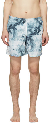 Bather Blue Ice Dye Swim Shorts