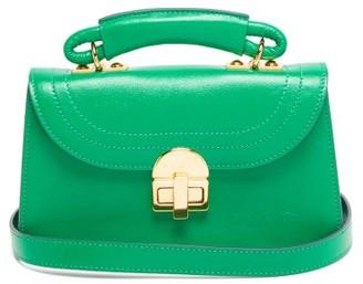 Marni Juliette Top-handle Leather Cross-body Bag - Green