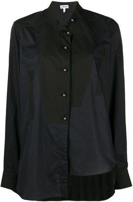Loewe Panelled Asymmetric Shirt