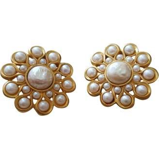 Karl Lagerfeld Paris Gold Metal Earrings