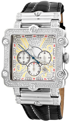 JBW Men's Phantom Diamond & Crystal Watch