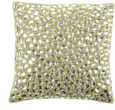 Aviva Stanoff Jewel Bed Cushion 25x25cm - Sage