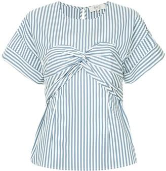 Sea Riviera striped corset T-shirt