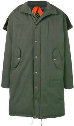Mr & Mrs Italy Oversized Padded Coat
