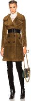 Burberry Suede Coat