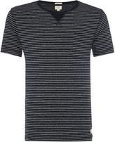 Linea Men's Crew Tee With Stripe