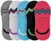 Steve Madden Women's SM32842 5PK Microfiber Footies