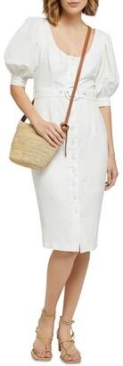 Oxford Moira Linen Blend Dress