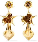 Jennifer Behr Lily Rose Gold-plated Earrings
