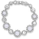 Marchesa Pearl and Crystal Bracelet