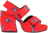 Kenzo Memento 120mm Printed Leather Sandals