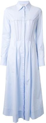 Gabriela Hearst Long Shirt Dress