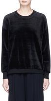 Vince Velour sweatshirt
