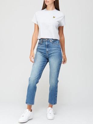 Lyle & Scott Crop T-shirt - White
