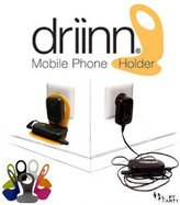 Kikkerland Driin Red Mobile Phone Holder