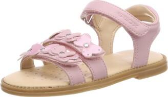 Geox Girl's J Karly I Open Toe Sandals