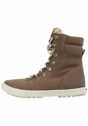 Roxy Anderson - Lace-Up Winter Boots for Women - Lace-Up Winter Boots - Women Brown