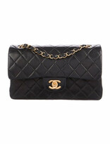 Thumbnail for your product : Chanel Vintage Small Classic Double Flap Bag Black