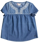 Roxy Girl Girls Embroidered Top